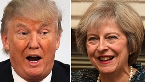 Theresa May has invited Donald Trump to visit the UK