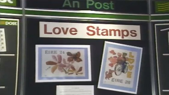 An Post Love Stamps
