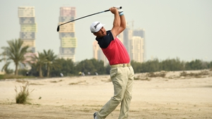 Graeme McDowell was six under after nine holes in Doha
