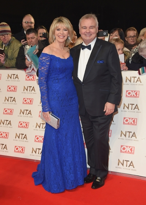 Arguably UK TV's most popular couple Ruth Langsford and hubby, our own Eamonn Holmes