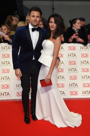Mark Wright and Michelle Keegan were perfectly co-ordinated