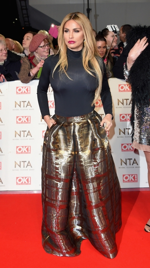 Katie Price attended the NTA's in this two piece