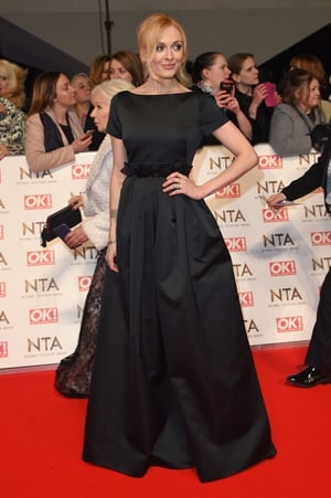 Fearne Cotton opted for this beautiful dress which stood out due to its simplicity