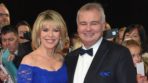 Ruth Langsford with Eamonn Holmes