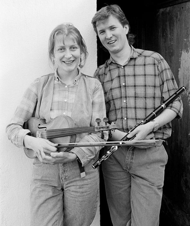 Maireád Ní Mhaonaigh and Frankie Kennedy (1985)