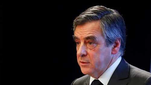 Fillon Says Will Drop Out of Presidential Race if Charged