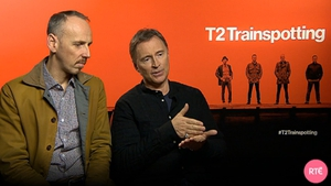 Ewen Bremner and Robert Carlyle discuss T2: Trainspotting