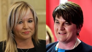 Michelle O'Neill and Arlene Foster will travel to Cardiff for a meeting with Theresa May on Monday