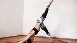 Yoga Pose of the Month: One-Legged Downward-Facing Dog
