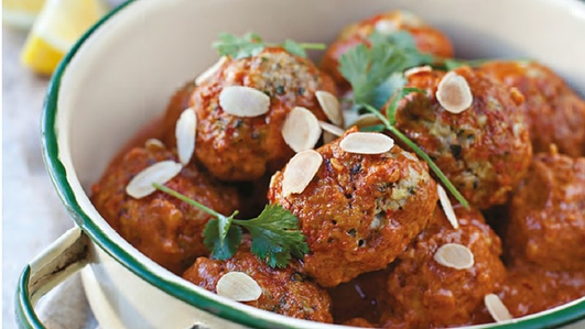 Neven's Recipes - Spanish Meatballs also Butter Bean Stew