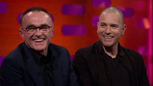 Danny Boyle (left) and Ewan McGregor didn't talk for 15 years following their row