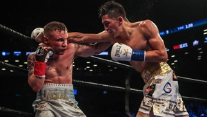 Leo Santa Cruz suffered the only defeat of his professional career against Carl Frampton last February