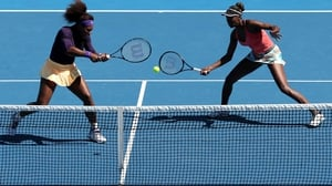 Serena and Venus meet in the second round