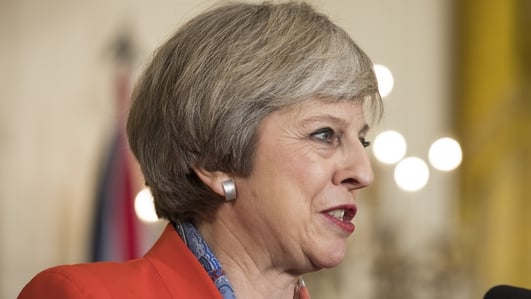Theresa May in Dublin to discuss Brexit