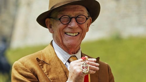 The late John Hurt received a knighthood in July 2015