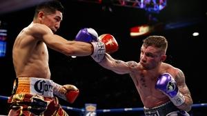 Leo Santa Cruz and Carl Frampton have beaten each other once