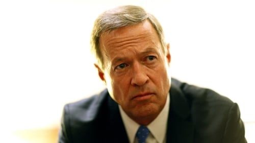 Martin O'Malley is a former Governor of Maryland and 2016 US presidential election candidate