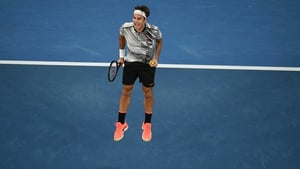 Roger Federer fired down 20 aces to Rafael Nadal's four on Rod Laver Arena