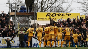Sutton shocked Leeds in the last round of the Cup