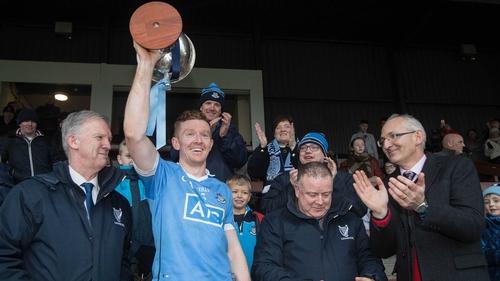 Ciaran Reddin lifts O'Byrne Cup