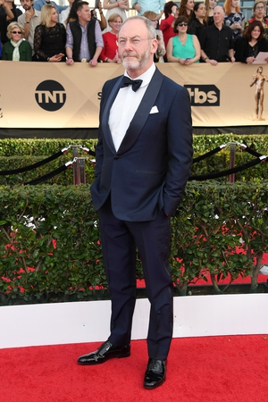 Game of Thrones was very present on the night and Liam Cunningham looked comfortable and cool representing the Irish.