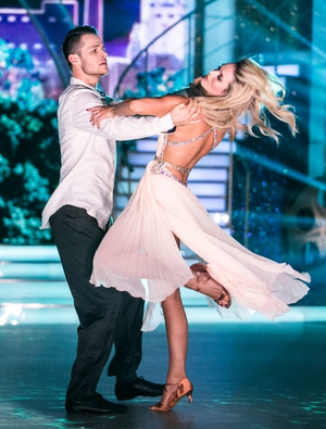 Week 4: Aoibheann and Vitali brought the romance of Once to the dance floor with their slow and beautiful rumba.