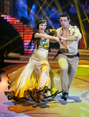 Week 4: Aidan O'Mahony and his abs struck gold with his Paso Doble with Valeria Milova.