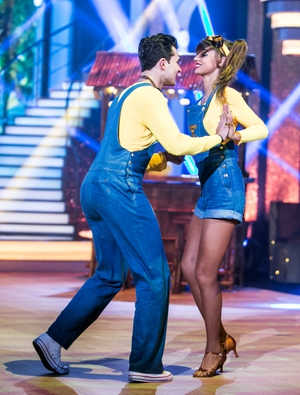 Week 4: We were shocked to see Thalia leave the competition after her Minions number.