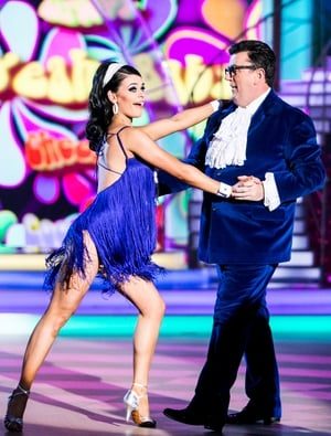 Week 4: Des Cahill left the judges speechless with his Austin Powers inspired Dancing Dessie swim. Must be seen to be believed.