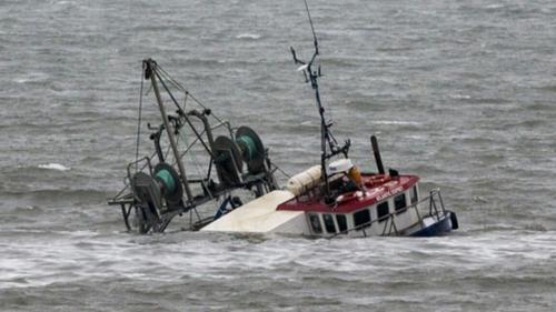Fishing vessel Atlantic Osprey sank off Balbriggan, Ireland