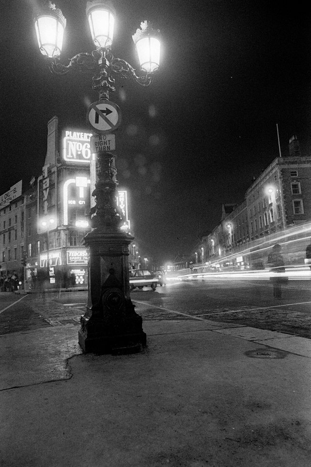 Dark City Dublin by Night