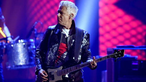 Going underground: Adam Clayton rode the tube to U2's gigs in London