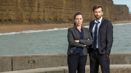 Olivia Coleman and David Tennant star in Broadchurch