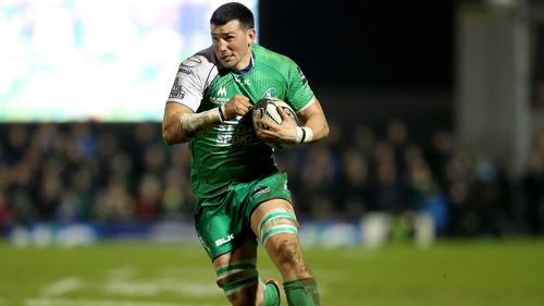 Marshall joined Connacht at the start of the season
