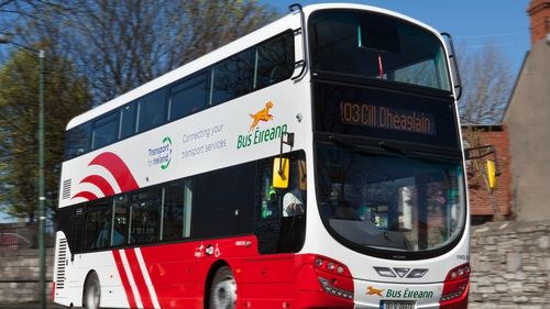 The Bus Éireann services involved would be mainly in the Dublin commuter belt