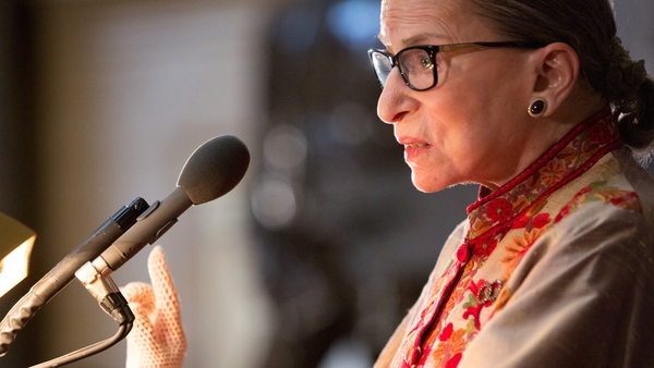 Ruth Bader Ginsburg died at her home in Washington DC