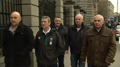 Five survivors of a teacher in Limerick were at Leinster House
