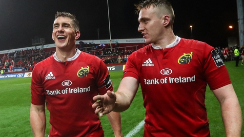 Ian Keatley and Rory Scannell are back-ups to Paddy Jackson in the Ireland squad this week
