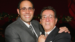 Frank Pellegrino (R) and his son Frank Pellegrino Jr (L)