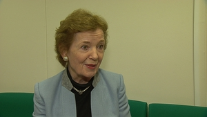 Mary Robinson said US President Donald Trump appears to have a very big ego