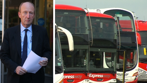 Shane Ross is expected to reject any suggestion that he is seeking a very low-cost employment model for Bus Éireann