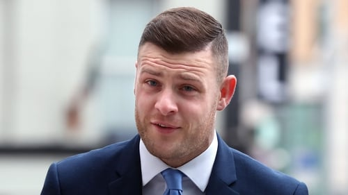 Anthony Stokes has been ordered to stay away from his ex-partner