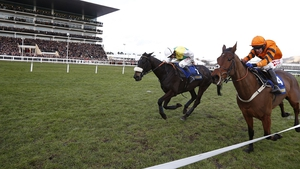 Thistlecrack was narrowly beaten by Many Clouds, who died after the race