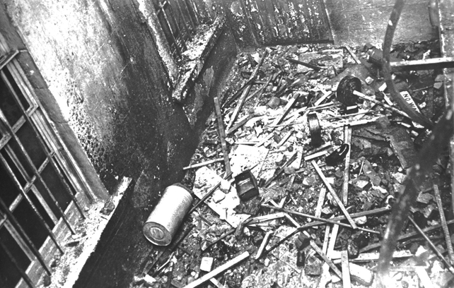 Damage and Debris at the British Embassy (1972)