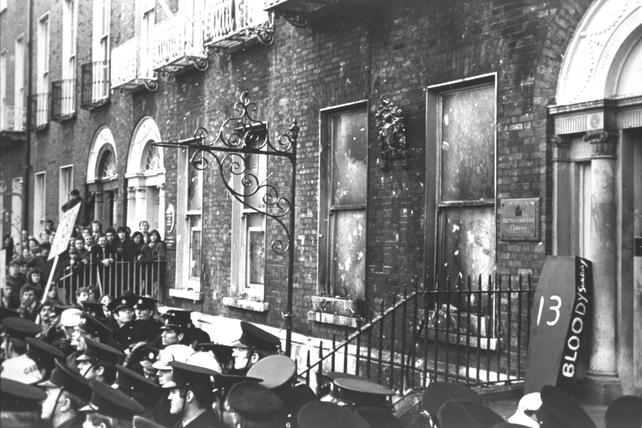 British Embassy in Dublin 1972