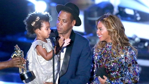 Blue Ivy, Jay Z and Beyoncé - now the baby twins can play their part in building the Carter empire