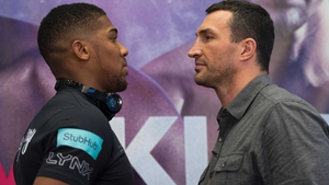 Anthony Joshua is willing to take his time against Wladimir Klitschko