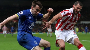 Seamus Coleman made his 200th appearance for Everton