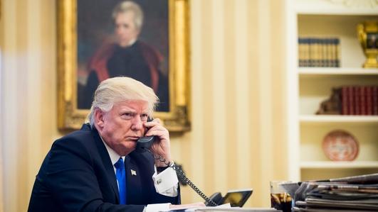 President Trump Phone Call