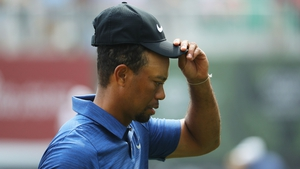 Tiger Woods is working hard to get the spasms down